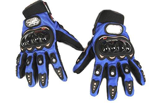 FreshGadgetz in fibra di carbonio, per moto e bici Pro-Biker Moto Racing-Guanti da ciclismo a dita, taglia XL