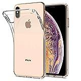Spigen Liquid Crystal, iPhone XS Max Hülle, Transparent TPU Silikon Handyhülle Ultra dünn Durchsichtige Schutzhülle Flex Case für iPhone XS Max (6.5 Zoll) 2018 (Crystal Clear) 065CS25122
