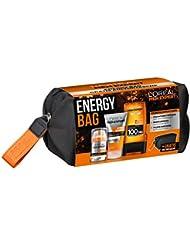 L'Oréal Men Expert Energy Bag, Geschenkset, für Männer gratis Kulturtasche, 24H Feuchtigkeitspflege (50 ml), Waschgel (150 ml) und Hydra Energy Duschgel (300 ml)