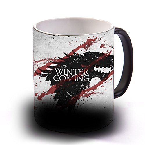 Taza Sensitiva al calor WINTER IS COMING
