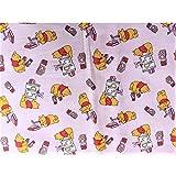 Matratzen MERCERIA Stoff 100% Baumwolle Bedruckt Winnie The