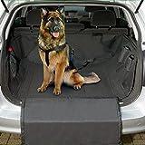 Hunde Kofferraum Antirutschmatte Große Autoschondecke Robust und Wasserfest 160 x 120cm Schwarz