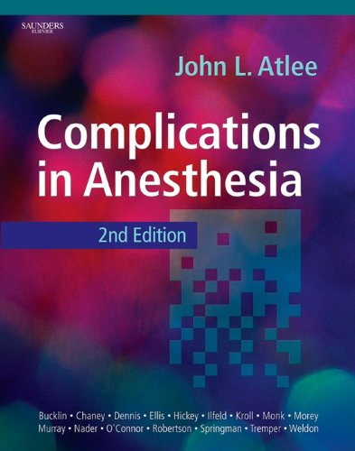 Complications in Anesthesia Elsevieron Vital Source