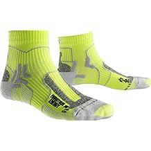 X-Socks Hombre unidad calcetín marathon Energy, hombre, X-SOCKS MARATHON ENERGY, Green Lime/Pearl grey