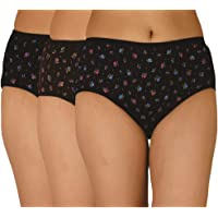 Eve's Women's Cotton Hipsters(Pack of 3)