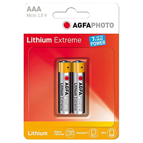 AgfaPhoto Extreme Lithium pile AAA (2 pièces)