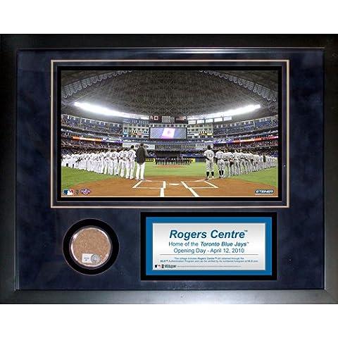 Steiner Sports MLB Toronto Blue Jays Rogers Centre 11 x 14-inch Mini Dirt Collage