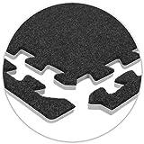 OLPro mit Teppich Fliesen Kanten (8Stück)–Grau