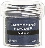 Ranger - Polvo metálico para Repujado, Material sintético, Color Azul, 4,4 x 4,4 x 4,4 cm