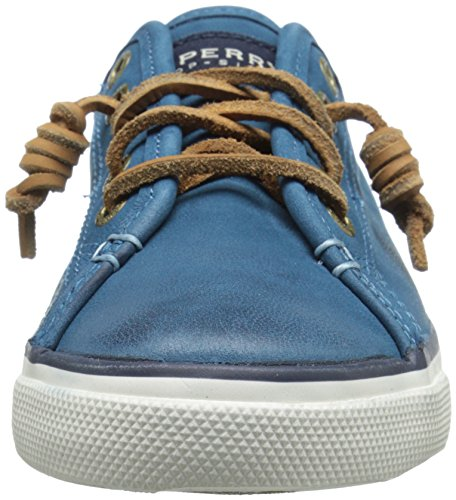 Sperry Top-Sider Women's Seacoast Weathered and Worn Fashion Sneaker, Blue, 10 M US Blue