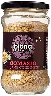 Biona Organic Gomasio Sesame Salt 100g (Pack of 6) by Windmill Organics