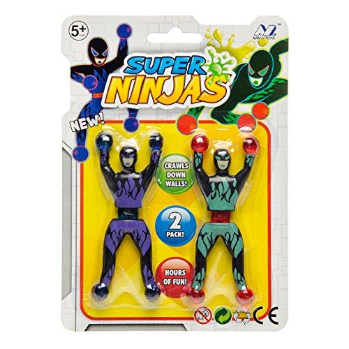 JONOTOYS 3X Fensterkletterer Ninja Fensterwanderer 2er Set Wanderer Mitgebsel Kindergeburtstag Tombola