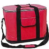 XXL Kühltasche 30 Liter Rot Kühlbox Thermotasche Isoliertasche Camping Picknick Tasche Box ( verschiedene Farben und Größen )