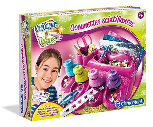 Clementoni- Créateur de Talents-Gommettes Scintillantes, 52341, Multicolore