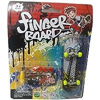 "Skateboard Finger Mini Skate para Ditto Compressed Wheels and Wrench Destornillador Juguetes para niños Ideas de regalos"","