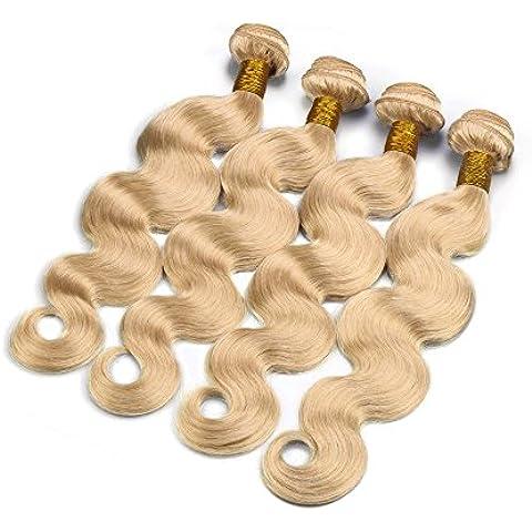 M@YZ signore indossare ogni giorno 100% parrucche reali dei capelli può essere parrucca nera naturale (36 Parrucca Nera Lunga)