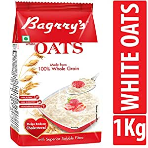 Bagrry's White Oats 1kg Pouch