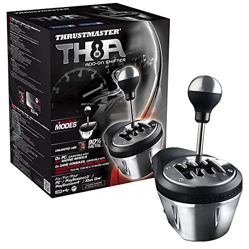 Thrustmaster TH8A Cambio per volanti (PS4, Xbox One, PS3, PC - Windows 8, 7, Vista & XP)