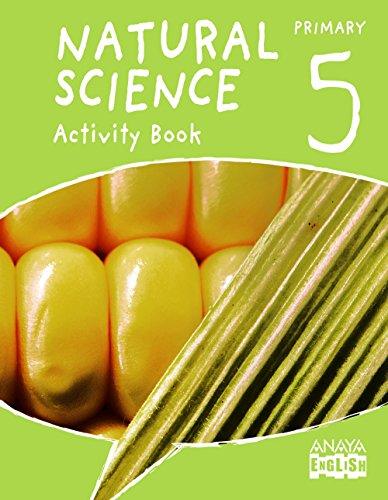 Natural Science 5. Activity Book. (Anaya English) - 9788467882018