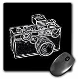 3dRose LLC 8 x 8 x 0.25 Inches Mouse Pad, Picture of a Vintage Classical Camera (mp_20714_1)