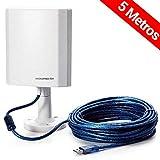 VicTsing Amplificador de la antena de WiFi Larga Distancia refuerzo inalámbrico de hasta 1/2 Mile 0,5 puntos de distancia calientes