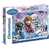 Frozen - Puzzle, 104 piezas, con glitter (Clementoni 272488)