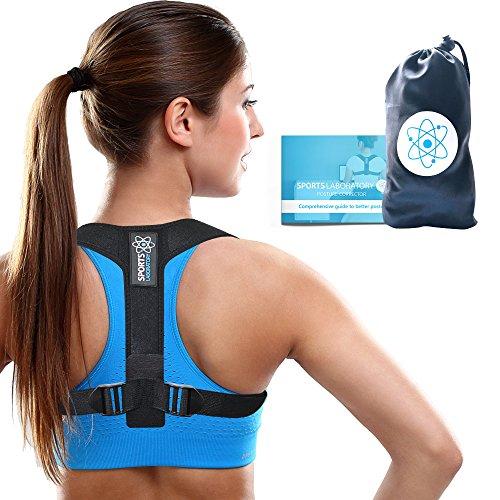 Sports Laboratory PRO+ Corrector Postura Espalda Hombros