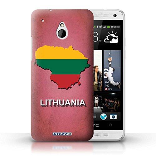iCHOOSE Hülle / Hülle für Apple iPhone 5C / harter Plastikfall für Telefon / Collection Flagge Land / Griechenland/Greek Litauen/Litauisch