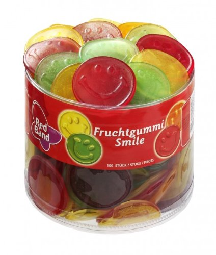 Red Band Smile Fruchtgummi 100 Stück = 1,2kg