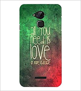PrintDhaba Quote D-3472 Back Case Cover for COOLPAD NOTE 3 LITE (Multi-Coloured)
