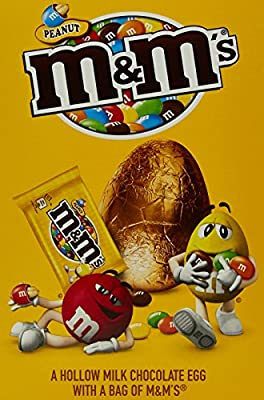 M&M's Peanut Medium Chocolate Egg, 135 g