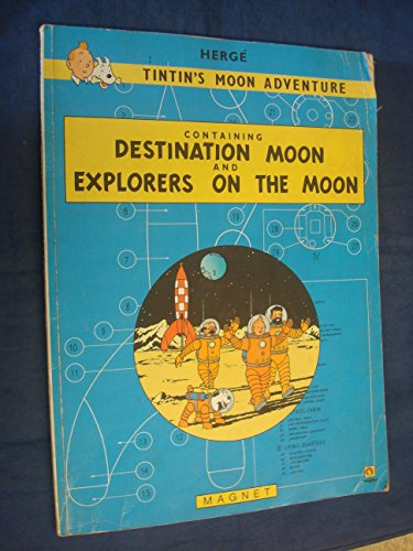 Tintin's moon adventure