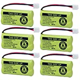 BAOBIAN BAOBIAN 2.4V Rechargeable Cordless Phone Batteries Compatible with AT&T/Lucent BT-18433 BT-184342 BT-28433