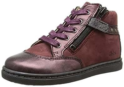 Aster Rafi, Sneakers Hautes fille, Rouge (18), 27 EU