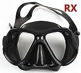 YEESAM SWIM Tauchermaske kurzsichtig Diving Tauch Schnorchel Maske NEARSIGHTED Verschreibung RX...