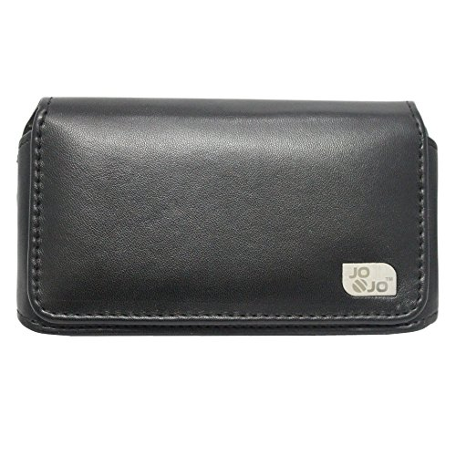 Jo Jo A4 Plain Belt Case Mobile Leather Carry Pouch Holder Cover Clip For  Apple iPhone 4S 32GB Black  available at amazon for Rs.345
