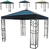 Pavillon Metall 3x3x2