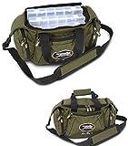 Spin Bag Gr. L Tasche Multitasche Angeltasche für Spritztour mit 3 Kleinteileboxen Saenger