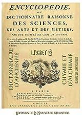 Encyclopédie ou Dictionnaire d'ancienne chymie et d'alchimie, livret 2, établi sur l'encyclopédie de Diderot et d'Alembert