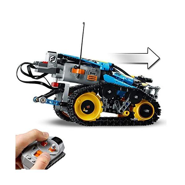Lego - Technic Stunt Racer, Veicolo Telecomandato ad Velocità , Completamente Motorizzato, con Cingoli e Grandi Ruote… 3 spesavip