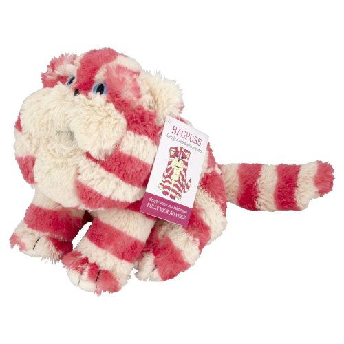 Plush Microwavable Bagpuss. Fragranced with dried French lavender.