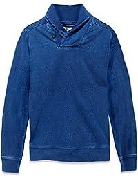 Timberland Hommes Sweatshirt Halls flux Châle Bleu