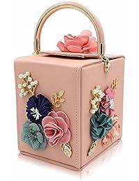 London Women Handbag Flower Wedding Clutch Bag Party Clutch Purse Ladies Evening Bags Clutches With Pearl Chain...