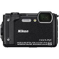 Nikon Coolpix W300 Digital Camera Schwarz(16 MP, 5X Optical Zoom/7.6 cm (3 Zoll) LCD Display, 4 K UHD Video, bildstabilisiert)