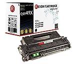 Original Reton Toner 7.500 Seiten, kompatibel zu HP 49X für HP Laserjet, 1320, 1320N, 1320NW, 1320T, 1320TN, 3390, 3392 (Q5949X), Canon Lasershot LBP-3360 LBP-3300