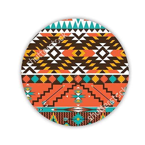 Babu Building Design Aztec 1 Faszinierend Benutzen Als Cup Coaster Circle MDF-Material Children Aztec Cup
