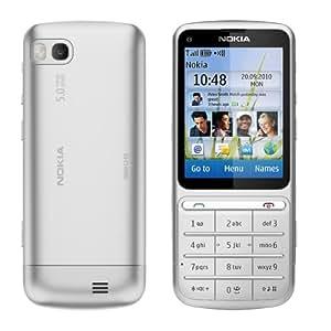 Nokia C3-01.5 Telefono Cellulare, Fotocamera da 5 MP, Bluetooth, Argento