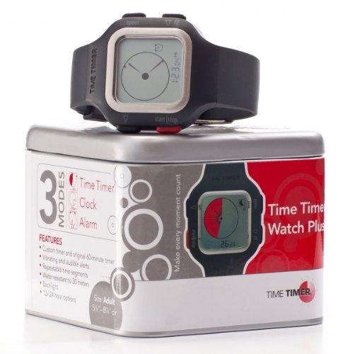 Time temporizador reloj de pulsera adultos gris oscuro/antracita