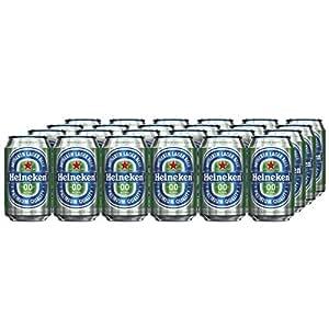 Heineken 0.0 Alcohol Free Beer Cans, 24 x 330 ml