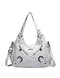 32cd1672621f69 Angel Barcelo Frauen-Handtasche Geräumig Mehrere Taschen Damen '  Schultertasche Mode PU Tote Tasche Satchel